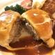 新潟市東区の老舗洋食屋「キッチンハーベスト」でランチ!ハンバーグが「ふわうま」で驚き!