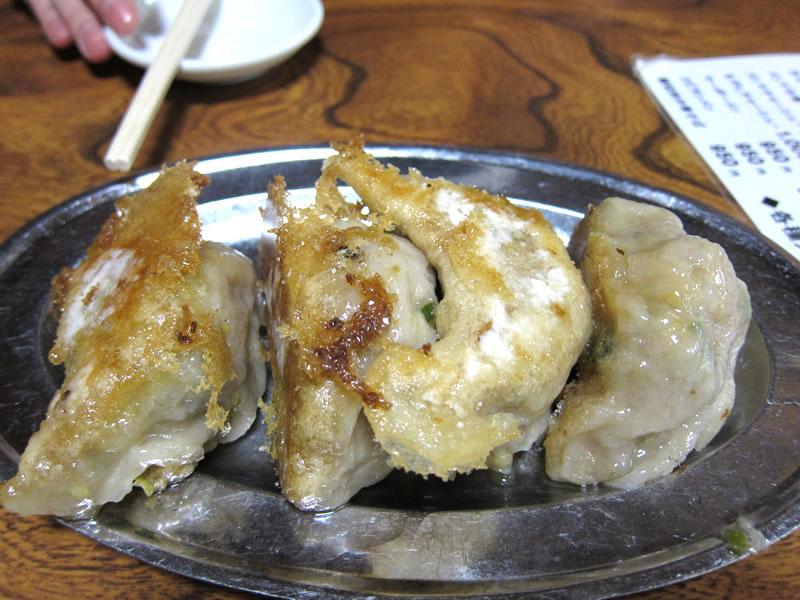 杭州飯店の餃子