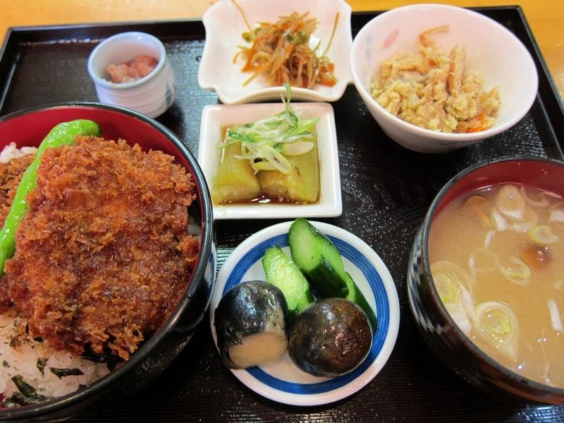 ヒレカツ丼定食
