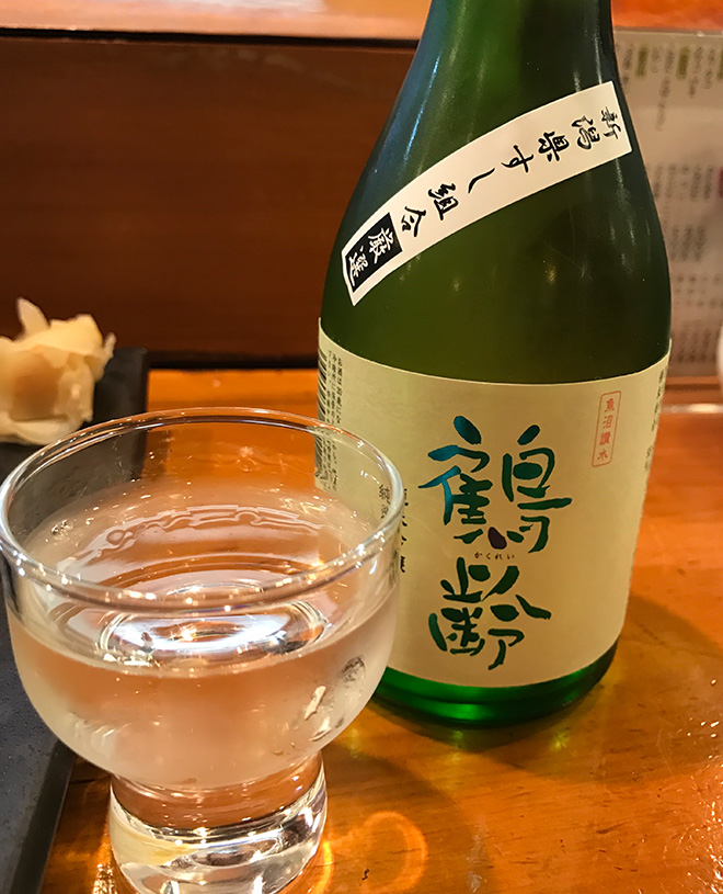 鶴齢 純米吟醸 新潟すし組合厳選酒