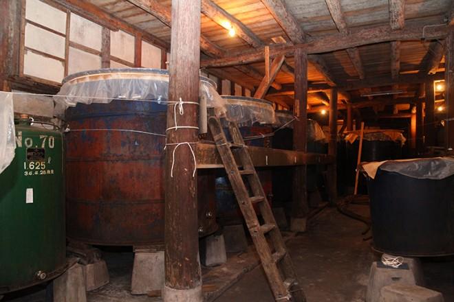 武蔵野酒造 土蔵造りの蔵