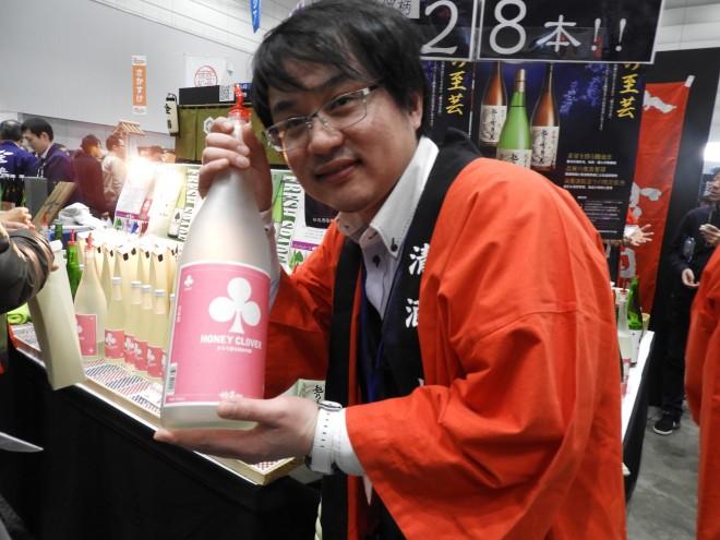 にいがた酒の陣2018 妙高酒蔵 HONEY CLOVER