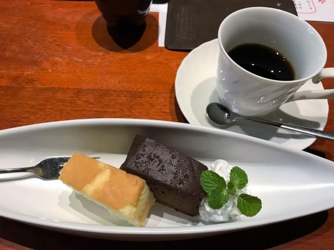 佳肴あさひ山 スイーツ デザート 地酒ケーキ プレーン ショコラ